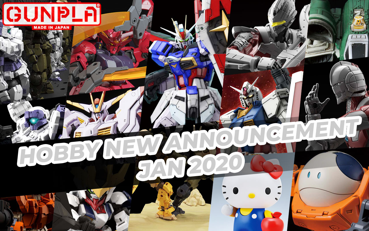 BANDAI Hobby January 2020 Announcement: April ~ May 2020 Arrivals