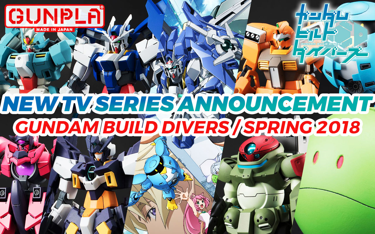 New Gundam Series: Gundam Build Divers!
