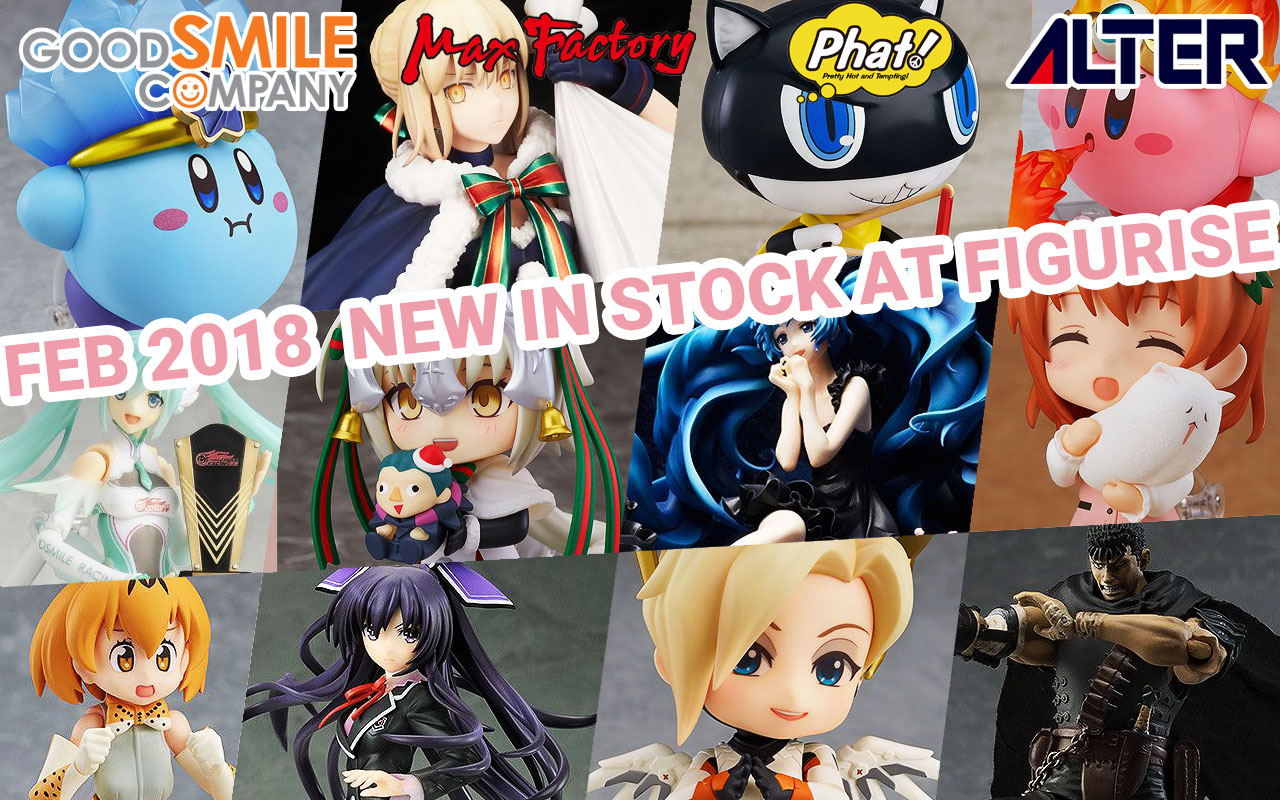 New in Stock at Figurise! 02/9/2018