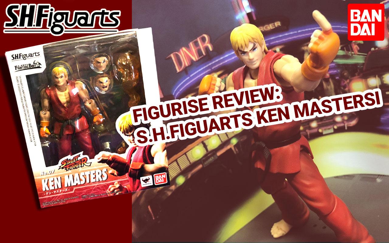 ~*Figurise Review*~ S.H.Figuarts Ken Masters