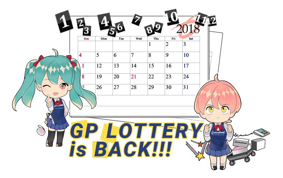 The GP Lottery is BACK!